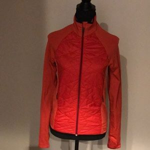 Athleta Quitled and Stretch Workout Jacket